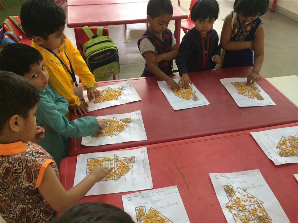 Cereal House Activity